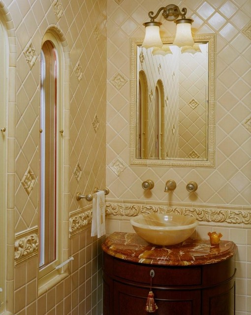 spanish style in beverly hills traditional bathroom los angeles by connie mccreight