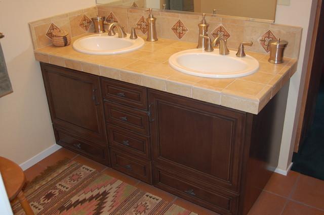 Bathroom Vanity In Spanish spanish style vanity - mediterranean - bathroom - san francisco