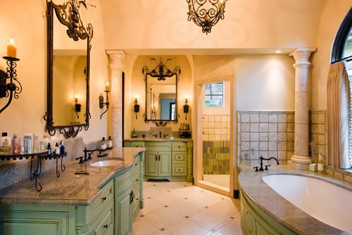 7112 Greenshores mediterranean bathroom
