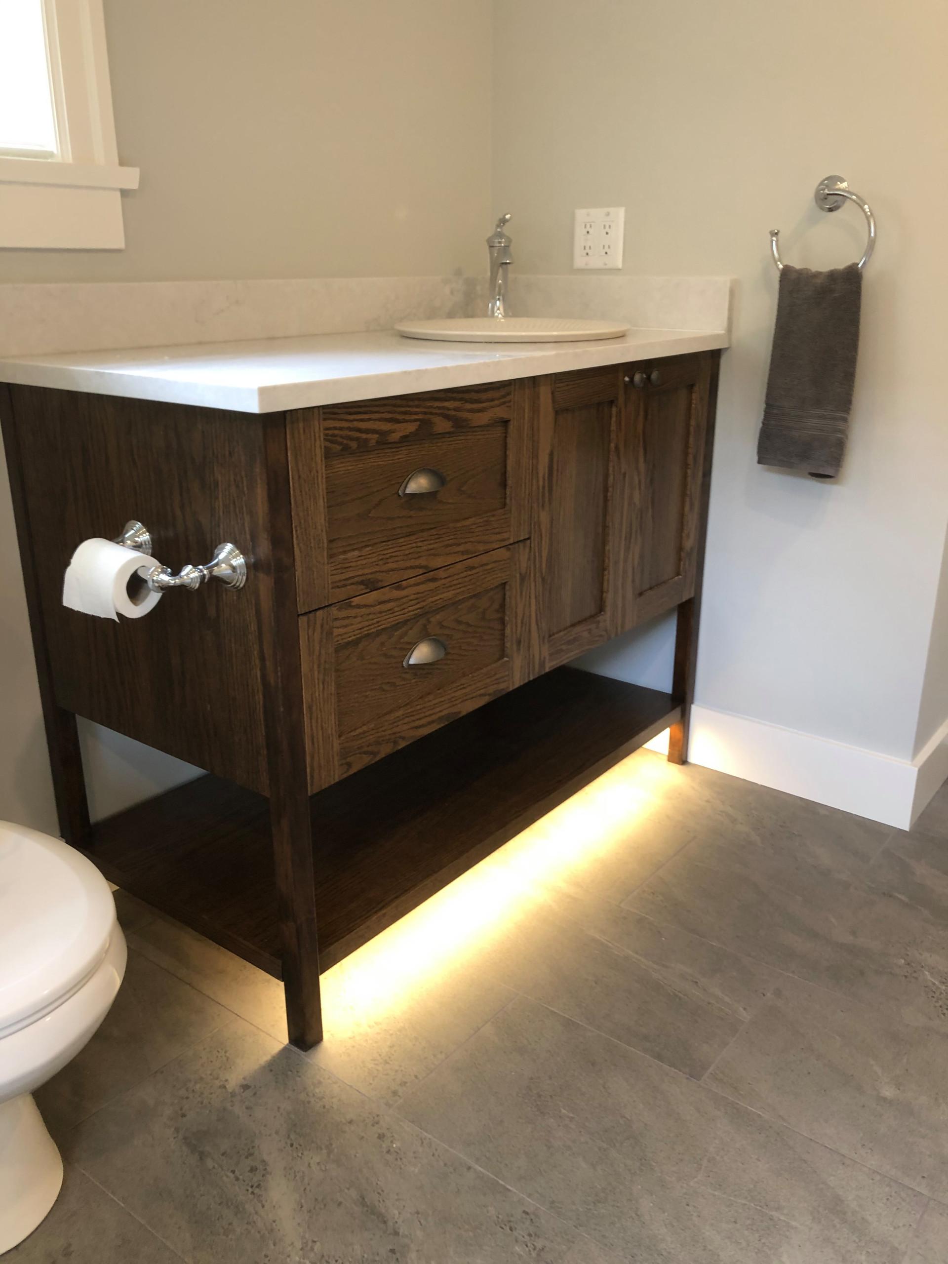 Spare Bathroom Remodel