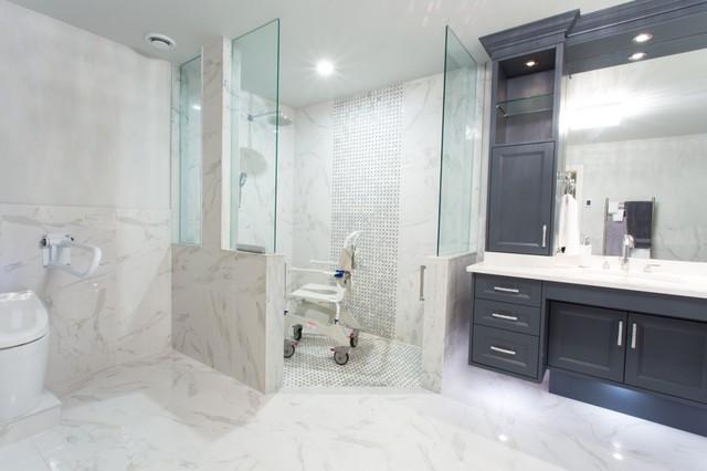 Special needs bathroom