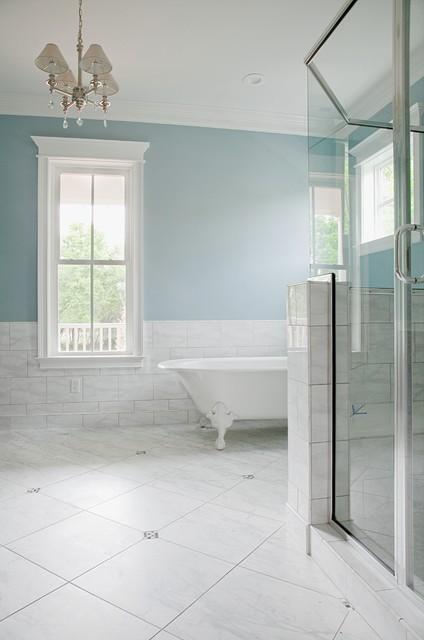 Special Spaces traditional-bathroom
