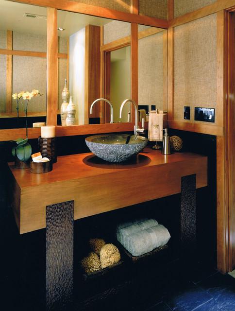 Spencer Guest Bath asian-bathroom