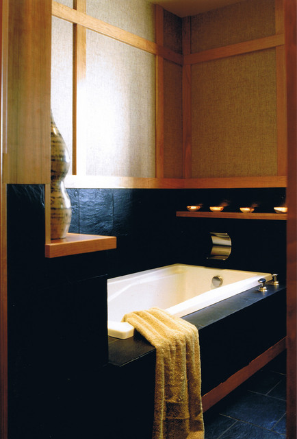Spencer Guest Bath - Asian - Bathroom - san diego - by James Patrick ...