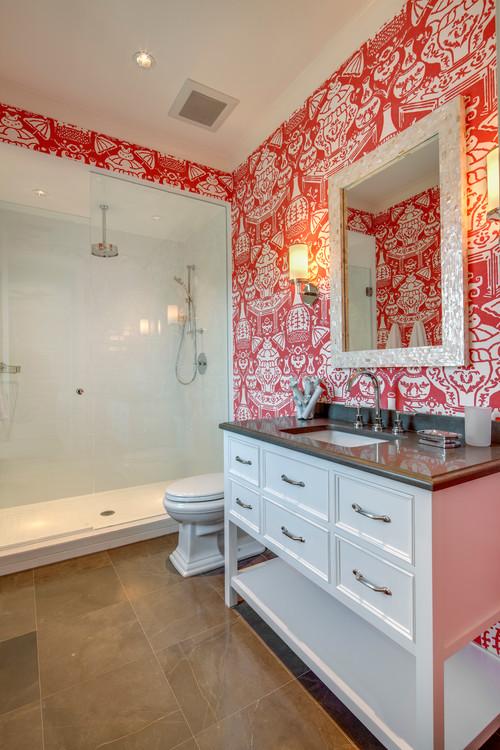 passionate reds for interior spaces