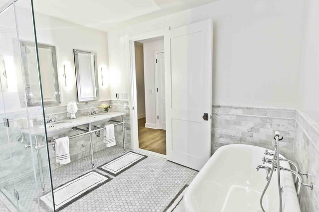 Spice Warehouse Tribeca Loft Master Bathroom Industrial