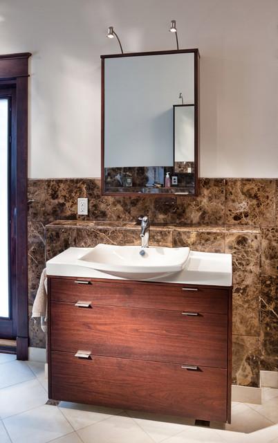 Spirit Lake - Contemporary - Bathroom - kansas city - by Wende Woodworking LLC