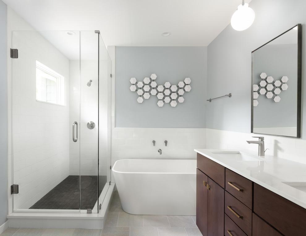 Split level modern - Transitional - Bathroom - Raleigh ...