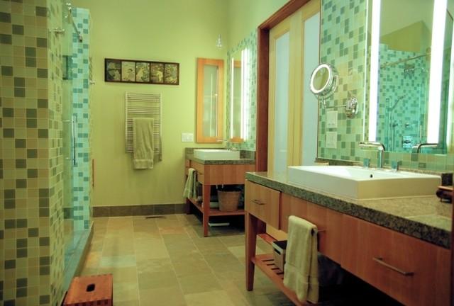 Springmill, Indianapolis Master Bath Renovation contemporary-bathroom