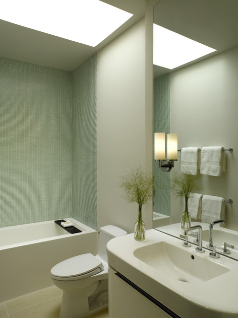 Spruce Street contemporary-bathroom
