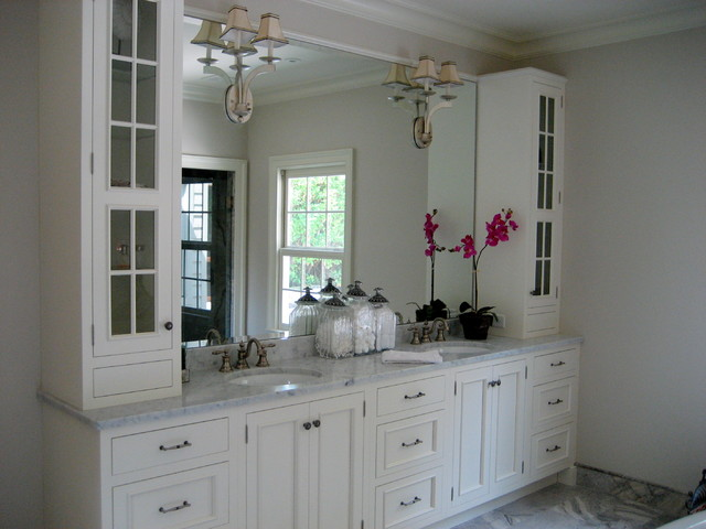 New Bathroom Bathroom Ideas Upper Cabinets White Cabinets Kitchen Cabinets