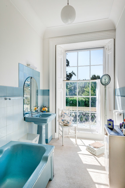 st anne's  traditional  bathroom  devon  by colin cadle, Home decor