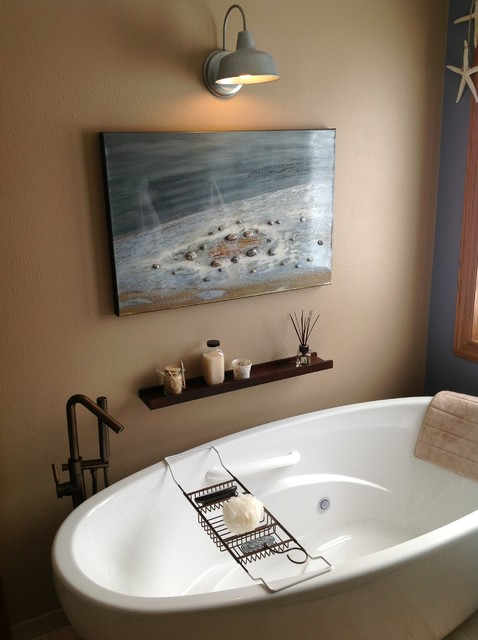 St. Cloud MN Master Bathroom Remodel 4 beach-style-bathroom