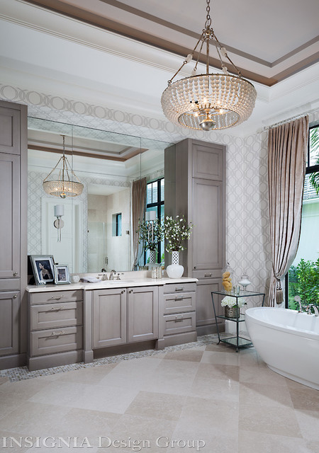 St James Model Home Bathroom Miami By Insignia Design Group