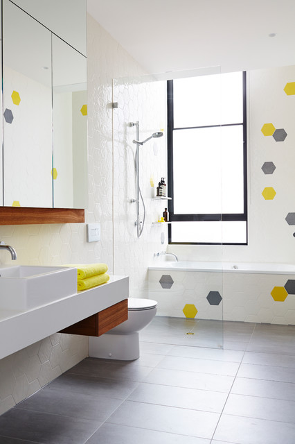 St Kilda Residence Scandinavian Bathroom Melbourne By Project 12 Architecture