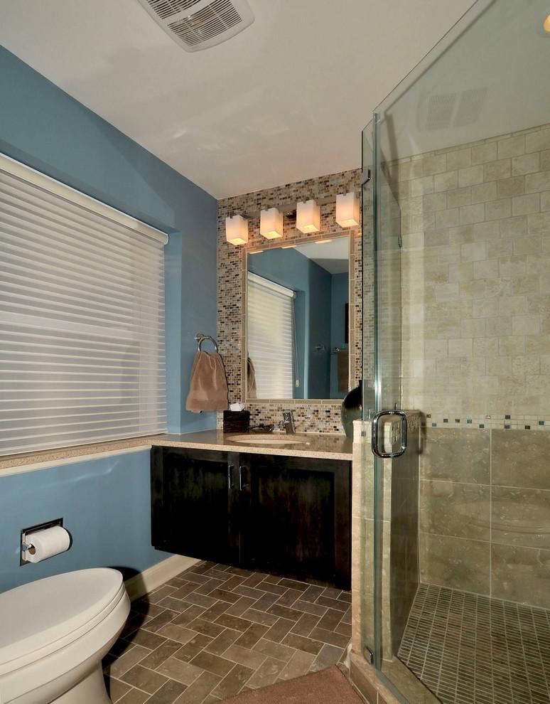 St. Louis Master Bathroom Renovation - Modern - Bathroom ...