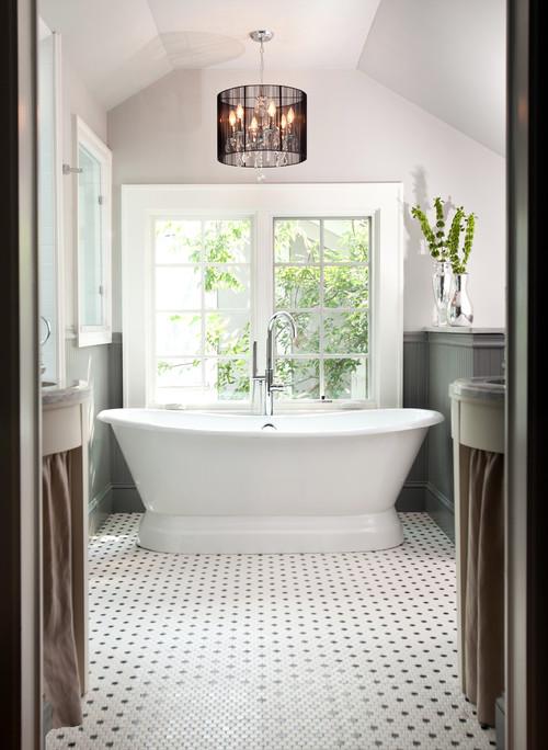 Chandelier for master bath