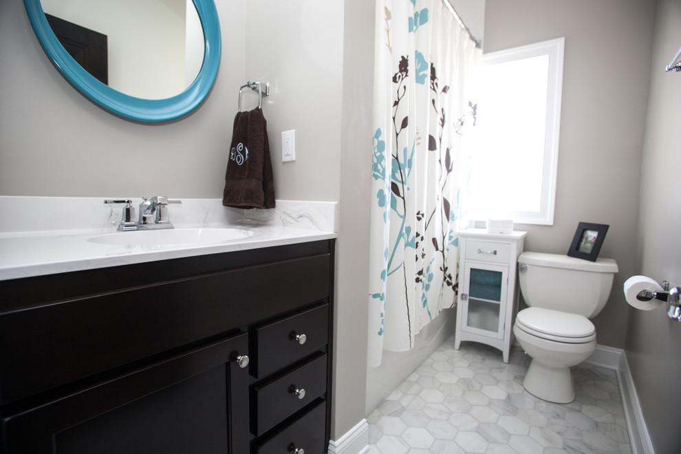 St. Mathew Bathroom Remodel - Contemporary - Bathroom ...