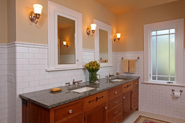 St. Paul Bungalow Remodel - Craftsman - Bathroom ...