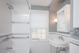 St paul classic bathroom remodel traditional bathroom for Bathroom ideas 1940
