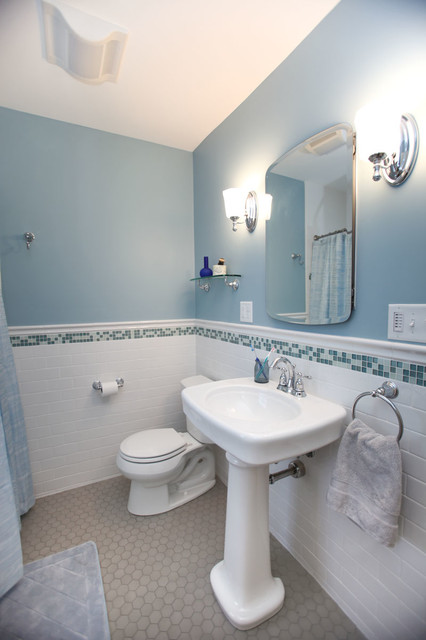 st paul four square classic bath remodel traditional bathroom