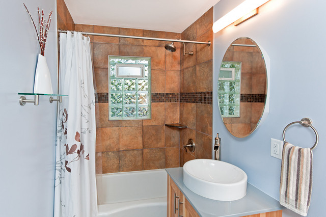 St paul transitional bathroom remodel traditional for Bathroom remodeling minneapolis mn