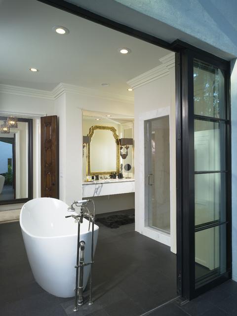 St. Simons Island, GA contemporary-bathroom