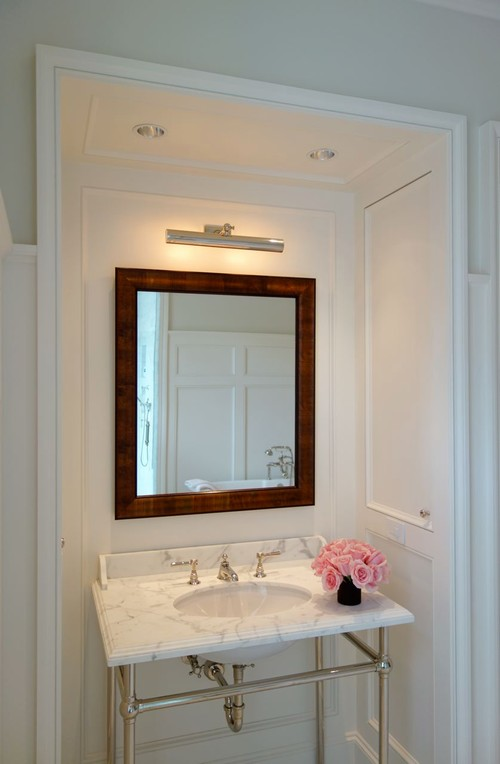 Bathroom Light Height picture light height