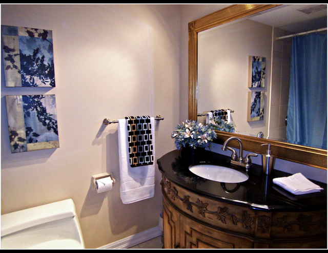 Staged bathroom contemporary bathroom ottawa by for A and s salon supplies keighley