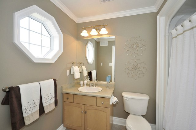 bathroom mirrors large staging vignettes traditional bathroom toronto by 11144