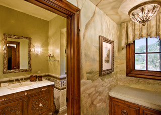 Stand Alone Home Traditional Bathroom Austin By