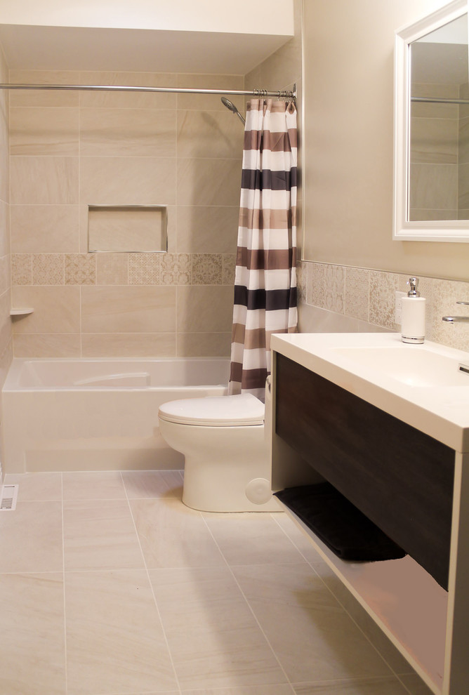 Standard Bathroom Renovation - Modern - Bathroom ...