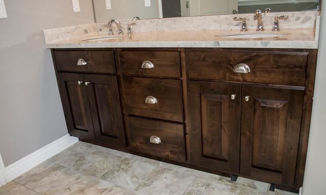 Standard Master Bathroom Vanity Traditional Bathroom Salt Lake City By Symphony Homes