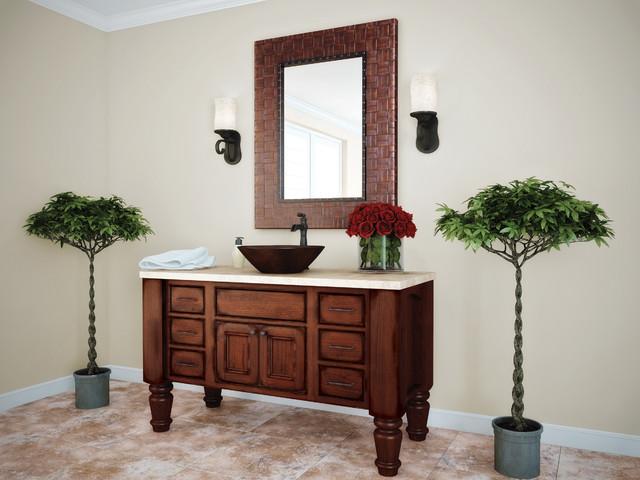 Starmark cabinetry bathroom in alexandria inset door style for Bathroom vanities alexandria
