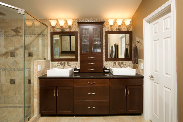 State of the art master bathroom in fairfax va for Bath remodel fairfax va