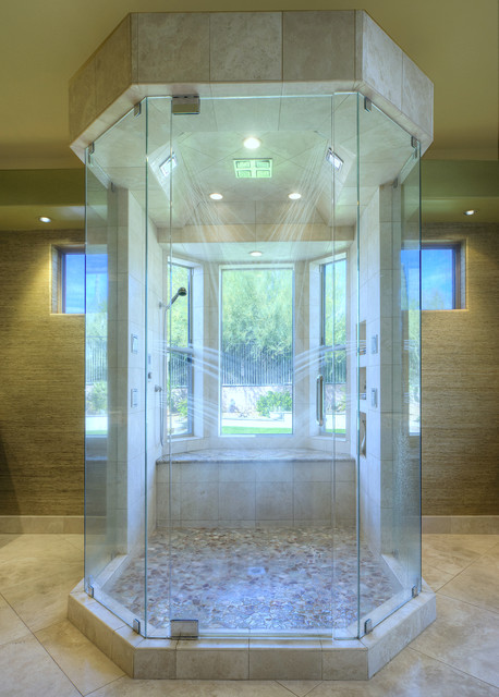 state of the art master shower contemporary design