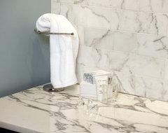 Statuary White Vanity traditional-bathroom-countertops