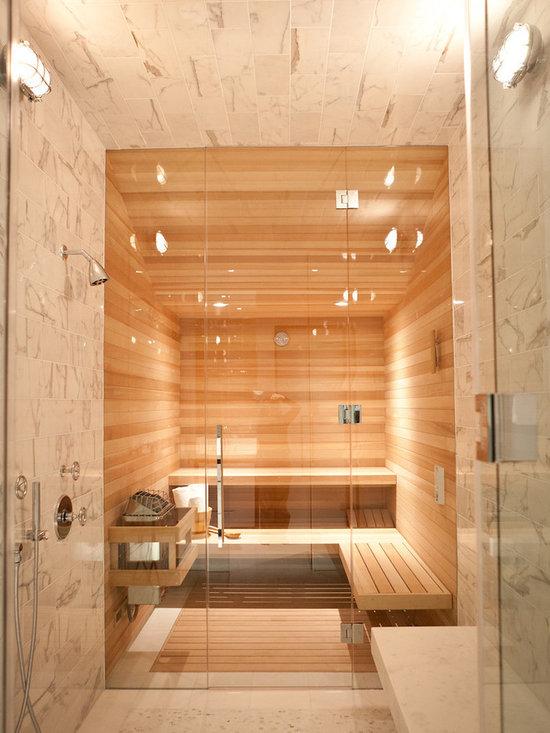 Basement wet dry sauna home design ideas pictures for Sauna bathroom ideas