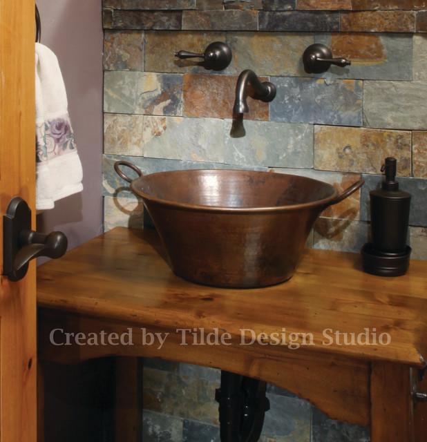Steamboat Springs Rental Unit eclectic-bathroom