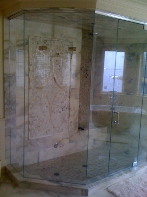Steamseal Frameless Shower Enclosure (Exceptional Design Series) traditional-bathroom