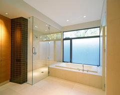 Stefani House contemporary bathroom