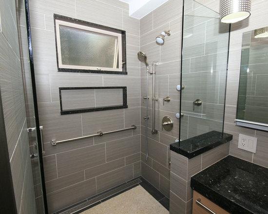 Daltile fabrique gris linen design ideas pictures for Daltile bathroom tile designs
