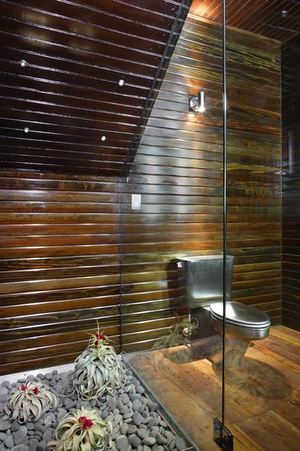 Stephanie's House (first floor) eclectic-bathroom