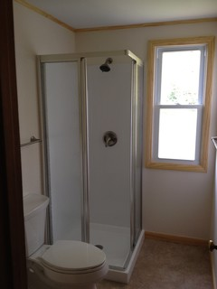 Sterling Corner Shower Camp Bathroom Holt - Traditional - Bathroom - other metro - by Lowes of ...