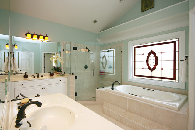 Sterling Pointe Redesign traditional-bathroom