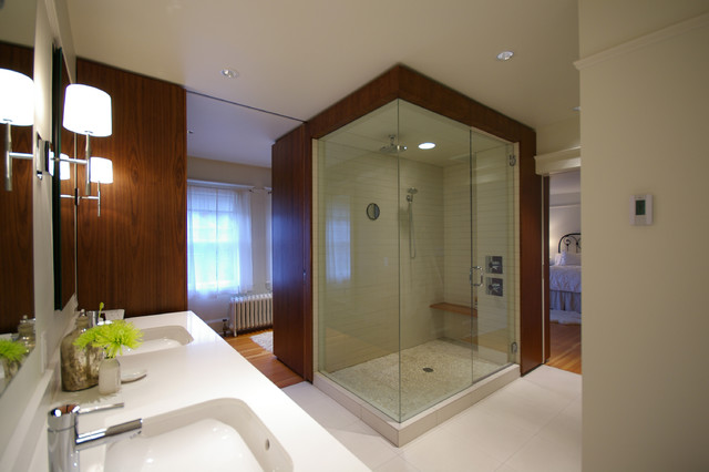 modern bathroom by Paul McKean architecture llc