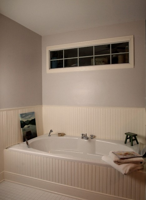 Stobough Addition of Mater bedroom and Master Bath traditional-bathroom