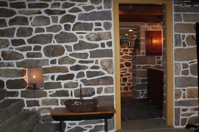 Stone Bathroom traditional-bathroom