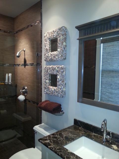 STONE BEACH HOUSE - Beach Style - Bathroom - Other - by J M Applegate Designs LLC