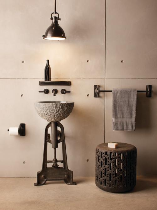 10 Idees Deco Pour Une Salle De Bains Industrielle